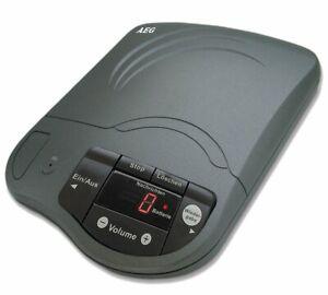 AEG-Drive-Anrufbeantworter-antrazit-bis-zu-80-mint-2x-Ansagetext