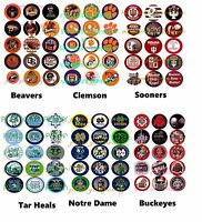 75 You Pick College Football Teams Ole Miss, Sooners Bottle Cap Image
