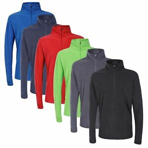 Trespass-Mens-Micro-Fleece-Top-Lightweight-Sweater-Pullover-Jumper-Duty
