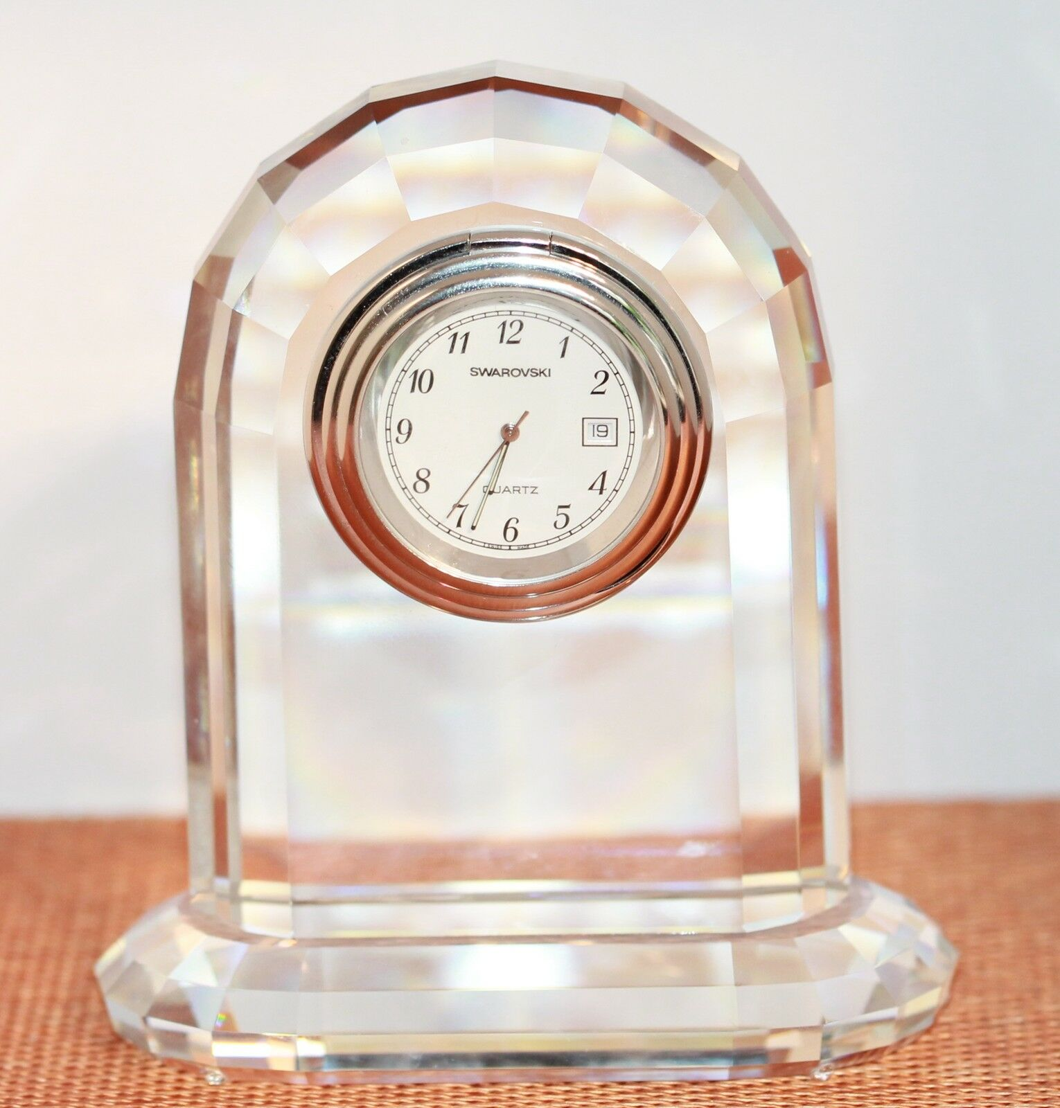 Bonne Bonne Bonne année, achat de recettes, cadeaux Swarovski original table ou cheminée Horloge | Acheter  952b1f