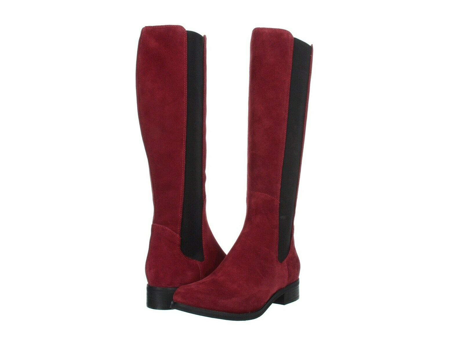 67% OFF NEW COLE HAAN Jodhpur Rich Oxblood Suede Knee-High Boots sz 5.5  Ret