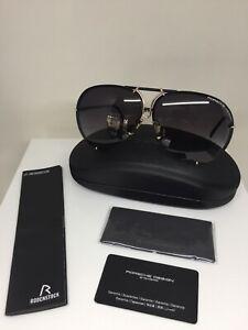 ceace3b0671 PORSCHE DESIGN Sunglasses P 8478 C. 40Y Matte Black   Gold Limited ...