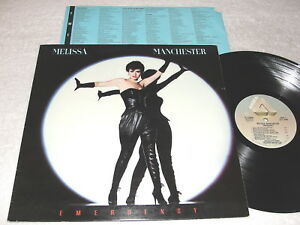 Melissa-Manchester-034-Emergency-034-1983-Rock-LP-VG-Original-Arista-Pressing