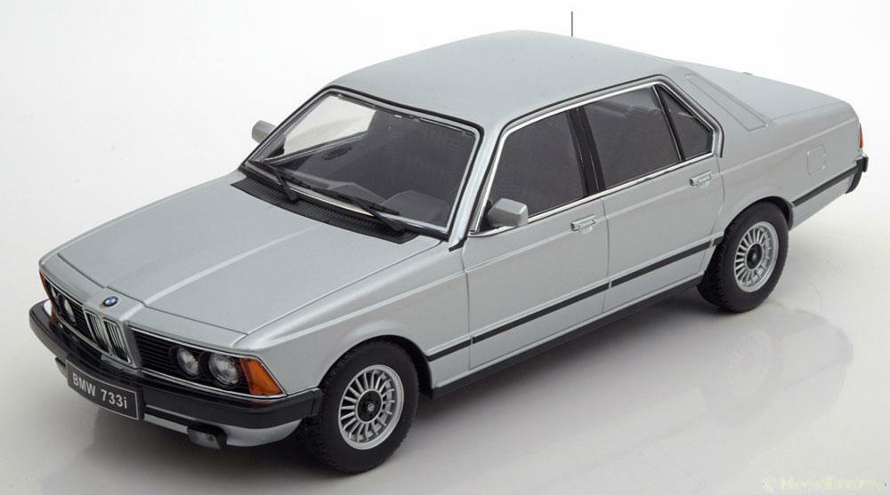 grandes precios de descuento BMW 733I E23 E23 E23 1977 plata KK SCALE KKDC180102 1 18 7.33 7ER SERIE 1000 PIECES  de moda