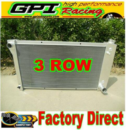 3Rows aluminum radiator for Chevy / GMC C/K Series Pickup Suburban Truck 67-72