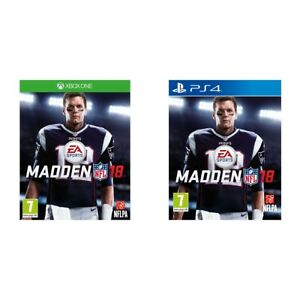 Image is loading Madden-NFL-18-Sony-PS4-Microsoft-XBox-One- 4f2666a5378