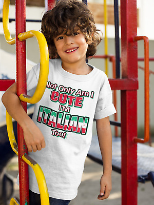 3T Cute Italian Infant /& Toddler Shirts 2T 4T