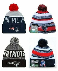 New-England-Patriots-Cuffed-Beanie-Knit-Winter-Cap-Hat-NFL-Authentic
