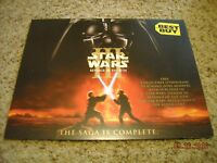 """Star Wars Revenge of the Sith Best Buy Exclusive 11""""x14"""" Lithograph 2005 RARE"""