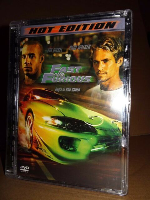 FAST AND FURIOUS Hot Edition DVD JEWEL BOX Rob Cohen Vin Diesel COME NUOVO!!!