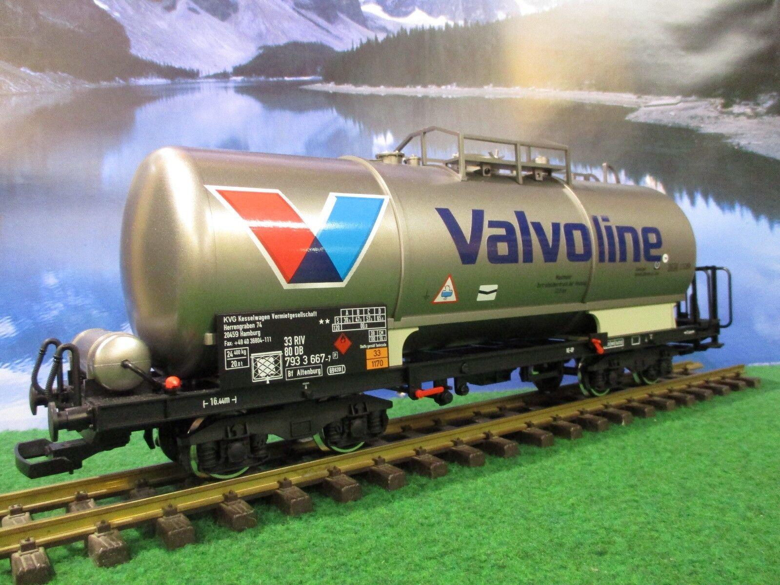 LGB 47831-01 Vagón cisterna Valvoline Personalizado-perfecto Estado -