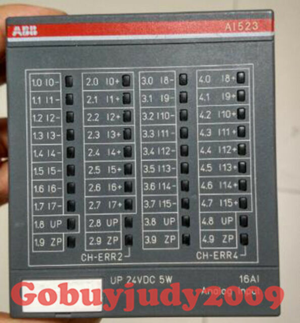 1pc ABB PLC Ac500 Ai523 16 Channel Analog Input Module Tested