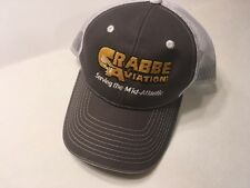 Crabbe Aviation Men Cap Hat Adjustable Band One Size Fits Most Mesh Trucker