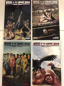 Night of the Living Dead: Death Valley #1 2 3 4 Comic Book #1-4 Avatar 2011