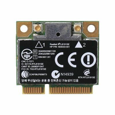 Wireless Wifi Card 802 11 B/G/N Mini 593533-001 for HP CQ42 G42 G62 G72  RT8191SE | eBay