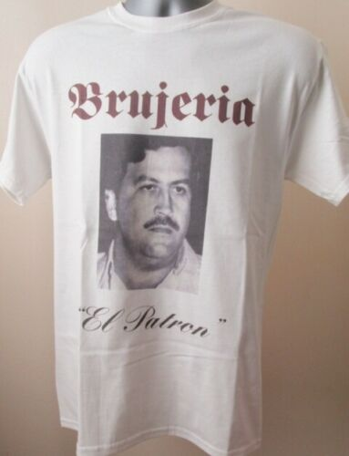 Brujeria El Patron T Shirt Music Extreme Metal Pablo Escobar Colombia Narcos 027