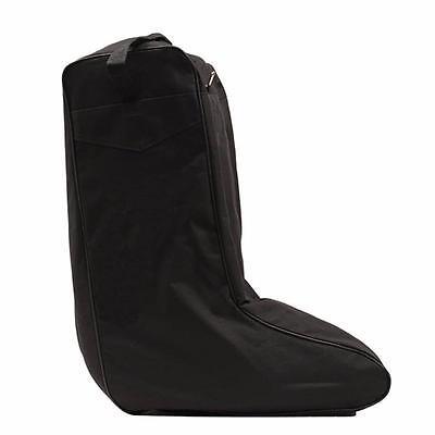 M/&F Western Adult/'s Extra Large Boot Bag w// Twin Zipper Black 0413001