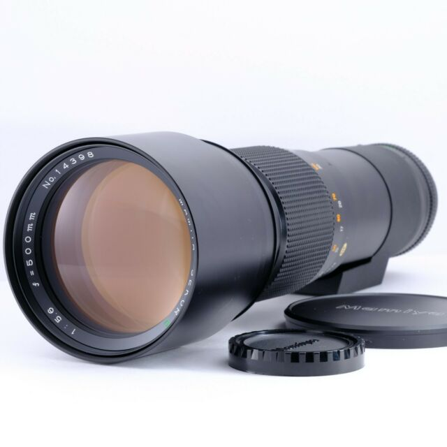 """N-Mint"" Mamiya 500mm f/5.6 MF Telephoto Prime Lens for Mamiya 645 Ship Japan"