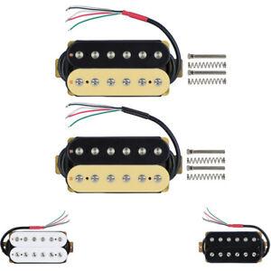 Double-Coil-Humbucker-Pickup-Electric-Guitar-Pickup-Neck-Bridge-Set-Ceramic