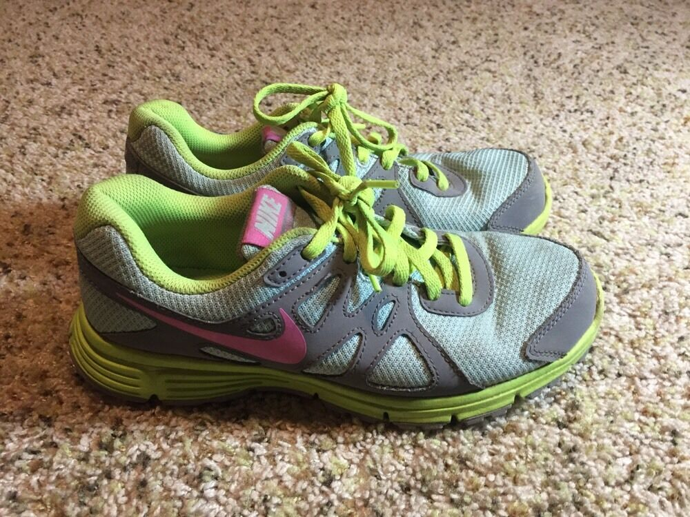 NIKE SNEAKERS BLUE GREEN SIZE 6Y GIRL'S KD6 Brand discount