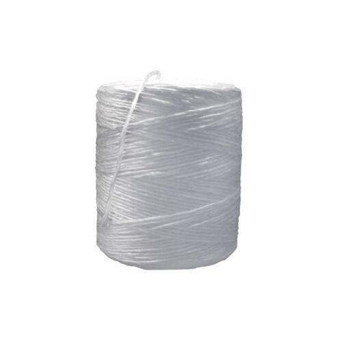"1800/'//Case/"" 3-Ply 725lb White /""Polypropylene Tying Twine"