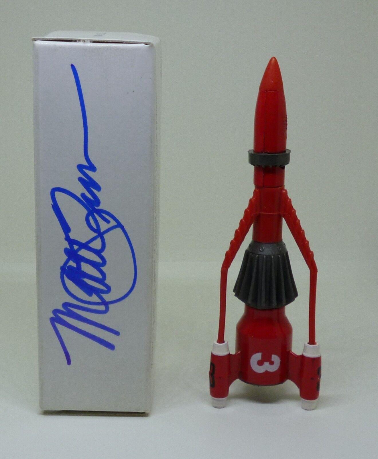 Matchbox Thunderbirds Thunderbird 3 Signed By Matt Zimmerman With Exact Proof