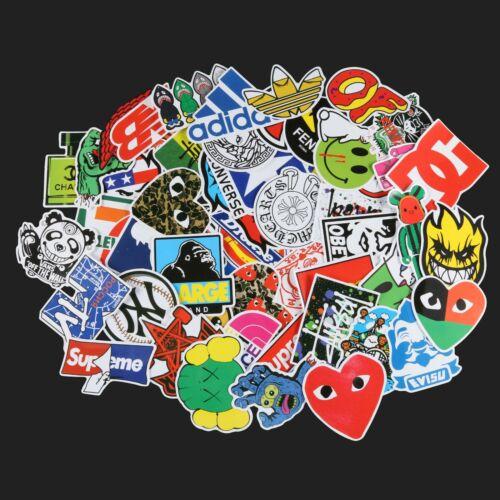 100pcs Hypebeast Skateboarding Fashion Brand Stickers Waterproof Vinyl Stickers