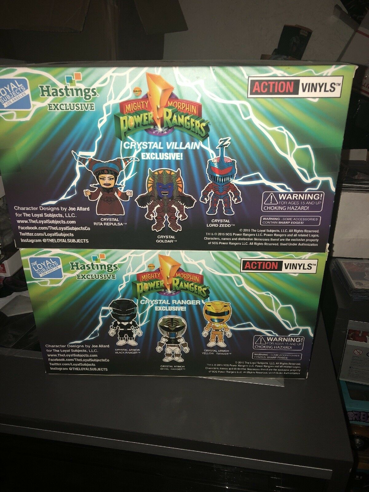 The Loyal Subjects Mighty Mighty Mighty Morphin Power Rangers Lot hasting exclusives retail 80 a9ba2e