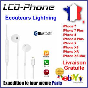 Ecouteurs-iPhone-7-8-Plus-X-XS-Max-lightning-Bluetooth-casque-avec-micro-Control