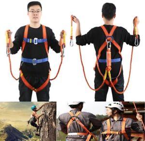 Outdoor Body Safety Rock Climbing Arborist Tree Rappelling Harness Belt