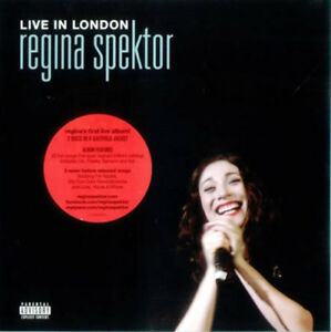 CD-DVD-Live-in-London-Regina-Spektor-Sealed-New