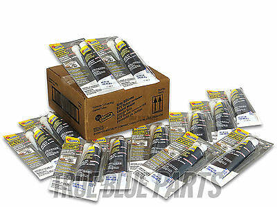 Permatex Gray Silicone RTV Gasket Maker T903V Case Of 12-3oz Carded Tubes