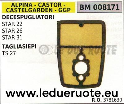 COLLETTORE ASPIRAZIONE DECESPUGLIATORE ALPINA CASTOR CASTELGARDEN 22 26 31 35 41