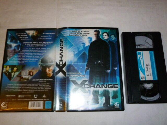 Xchange In der Zukunft kann eine Reise die Hölle FSK frei ab 16 Jahre VHS gebr.