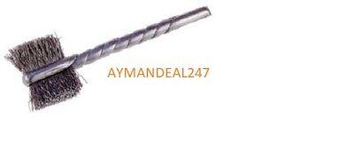 "12 3//32/"" stem Osborn 7//16/"" Situf Side Action Wire Tube Brush Holder .005 wire"