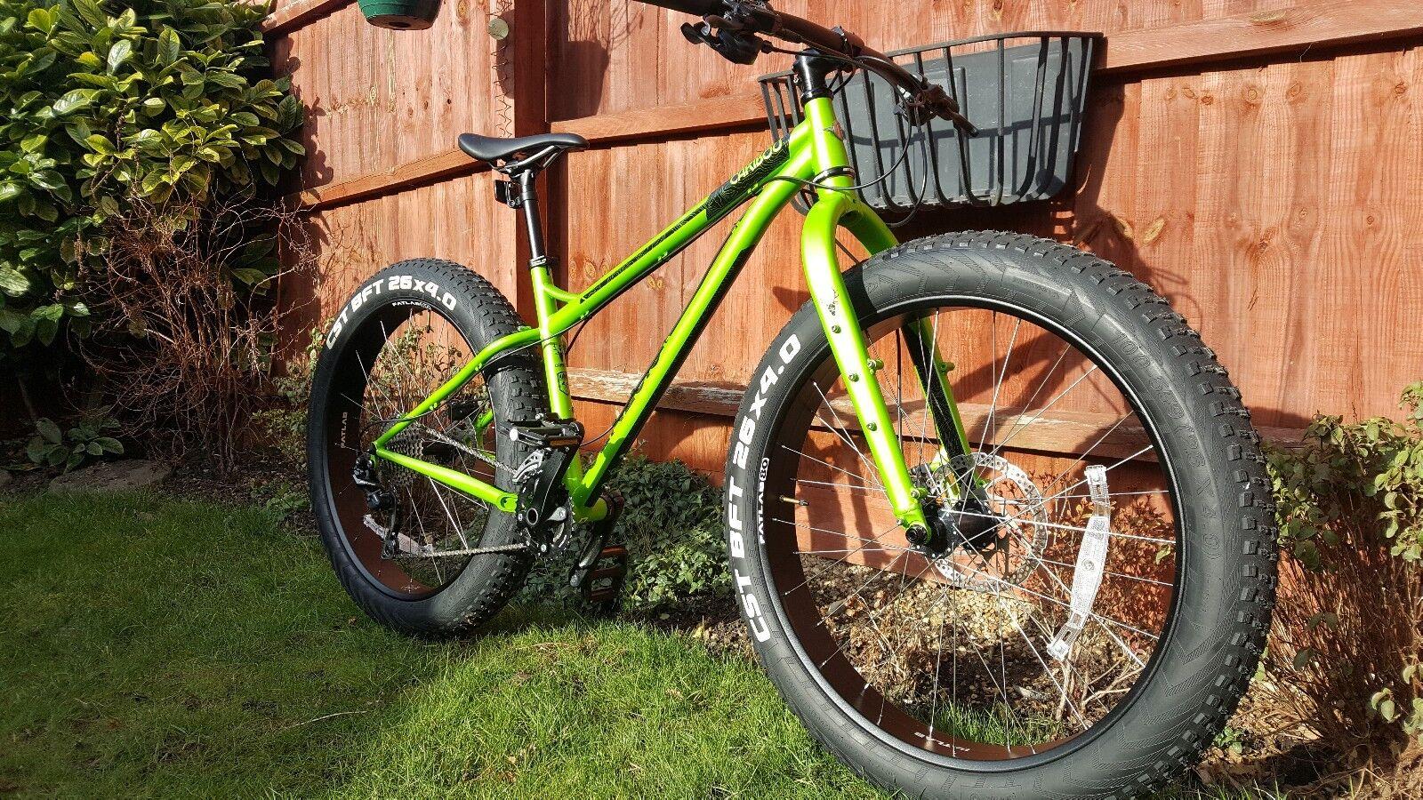 Genesis Caribou Fat Bike size medium
