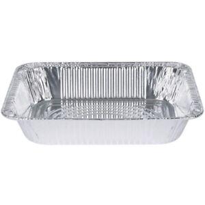 Extra Heavy Disposable Aluminum Foil Pans 100 Pack 9x13