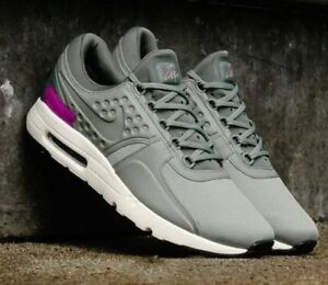 reputable site 394f0 32087 Details about NIKE AIR MAX ZERO PREMIUM MENS SZ 12 GREY RETRO RUNNING SHOES  2017 NIB NEW