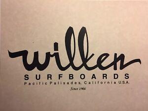 Wilken-Surfboards-logo-Print-1960-90-Santa-Monica-Surf-jacobs-velzy-Webber-Bing