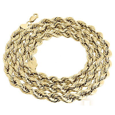 environ 76.20 cm toutes tailles disponibles 16-30 in 2 mm Or jaune 10KT Gold Rope Chain Necklace