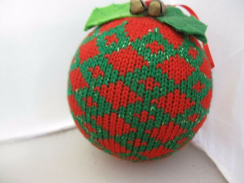 Jim Shore Heartwood Creek Collection Ugly Sweater Red /& Green Ornament NWT