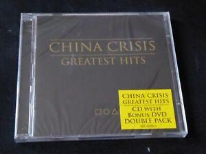 China-Crisis-Greatest-Hits-NEW-SEALED-CD-amp-DVD-WISHFUL-THINKING-BLACK-MAN-RAY