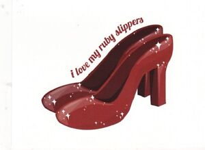 I-Love-My-Ruby-Slippers-Shoes-Picture-on-Postcard-Postcard