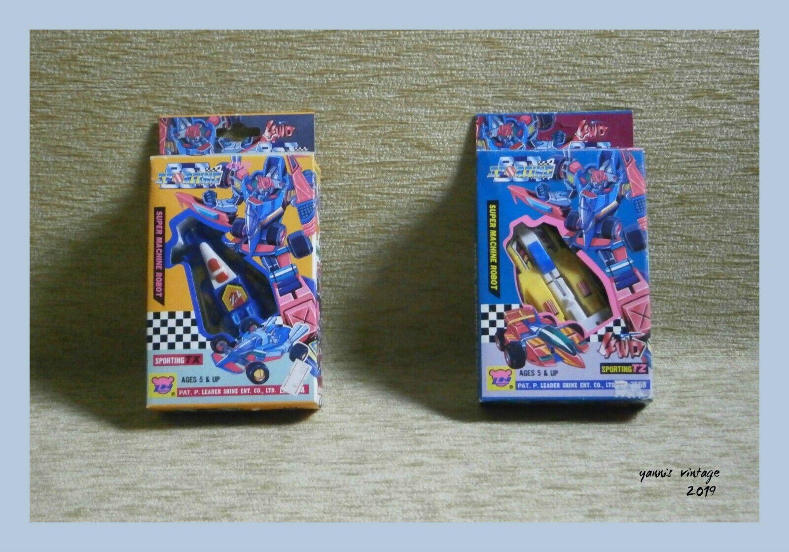 barato y de alta calidad Sporting TX & deportivos TZ 4WD Lote X X X 2 Nuevo en Caja Taiwán Transformers 80s - 90s De Colección Raro  descuento