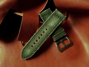 Peter-Gunny-Strap-Canvas-Verte-26-26-mm-Band