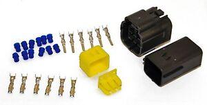 10 Kits - 6 Way Pin Econoseal Amp Imperméable Câblage électrique Multi Connecteurs-afficher Le Titre D'origine Pour RéDuire Le Poids Corporel Et Prolonger La Vie