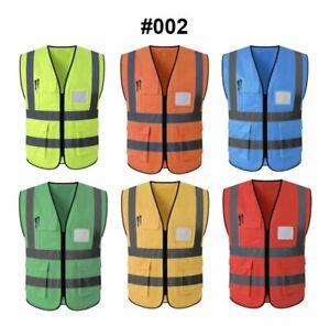 Reflective safety vests choose Color & Size  SALE$$$9.99 any size or color