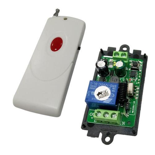 AC 85-220 V Drahtloser Funkschalter Set Fernbedienung Schalter 1Taste