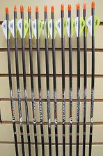 Easton Aftermath 340 Arrows - Blazer Vanes- Dozen - Cut to length FREE!