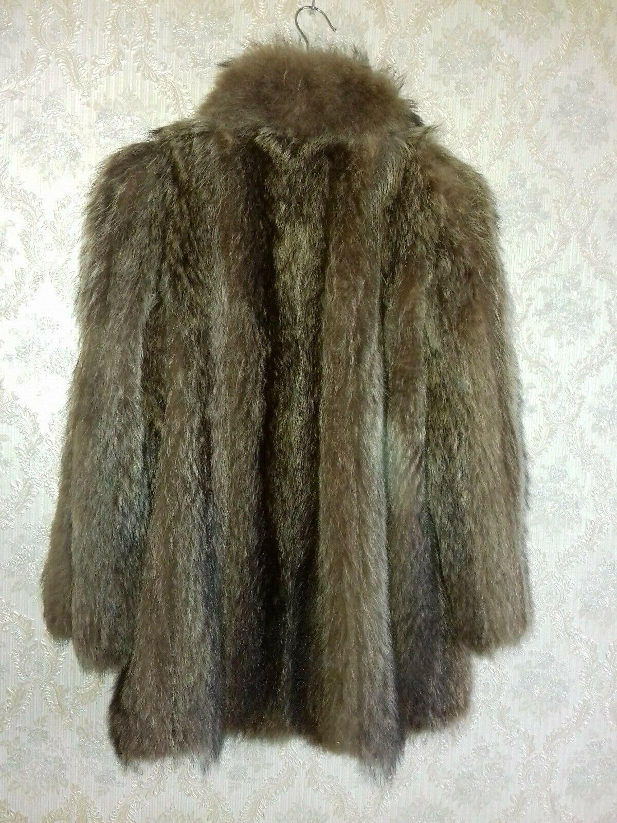 Manteau 3 4. marmotte  size 40